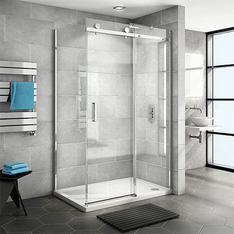 Nova Frameless 1000 X 700 Sliding Door Shower Enclosure Victorian Plumbing Uk In 2020 Shower Enclosure Corner Shower Enclosures Sliding Door Panels