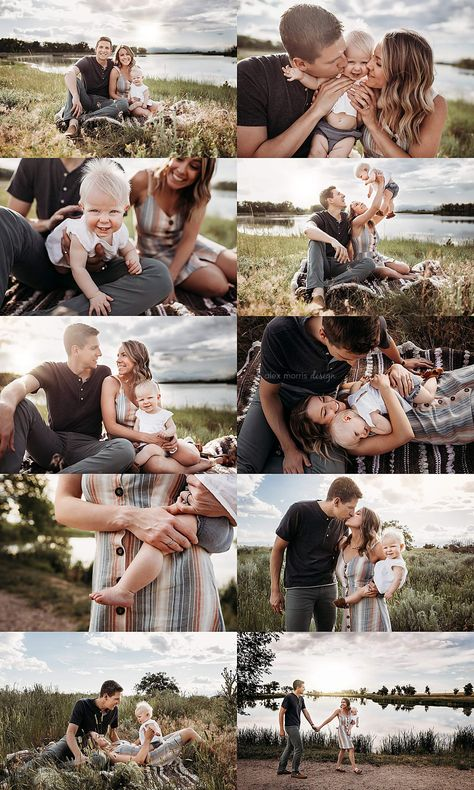 I had the chance to fit in a quick session for these cuties while in Colorado for a wedding! Summer Family Pictures, Family Photos With Baby, Outdoor Family Photos, Fall Family Photos, Outdoor Baby Pictures, Family Pics, Fall Family Picture Outfits, Family Picture Poses, Family Photo Sessions