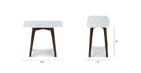 Vena Rectangular Side Table