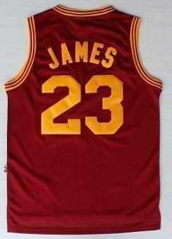 purchase cheap 9e2da 8f260 Men 23 Lebron James Christmas Jersey Cleveland Cavaliers ...