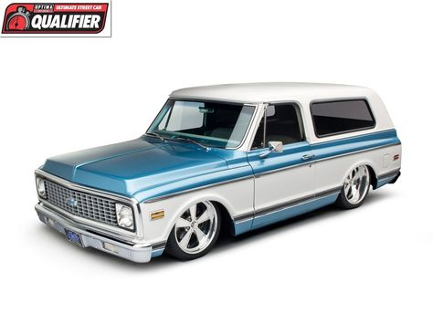 Curt Hill's immaculate, 495-horsepower 1972 Chevy Blazer C5 will compete in the 2012 #OUSCI