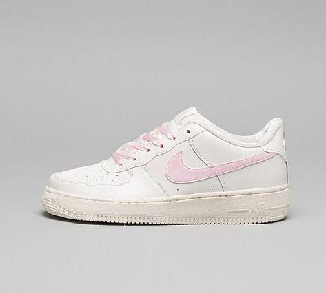 Nike Air Force 1 Big Kids' Shoes SailArctic Pink 314219 130