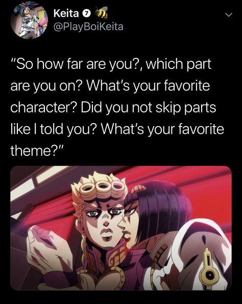 It really be like that sometimes | /r/ShitPostCrusaders/ | JoJo's Bizarre Adventure | Know Your Meme