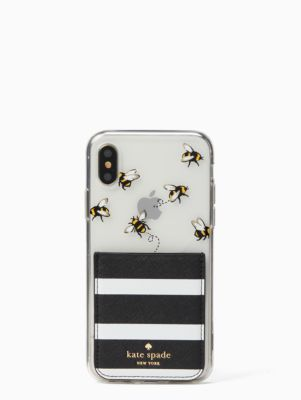 new product e68cf e083c stick to it iphone x case and sticker pocket set | Kate Spade New ...