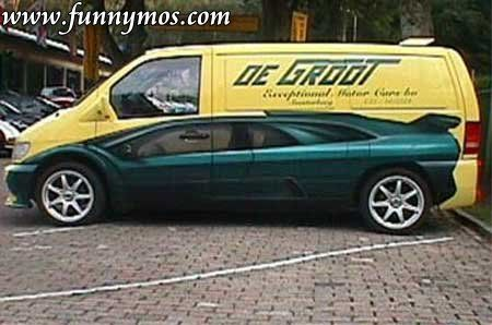 Illusion funny car paint jobs