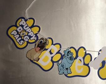 Puppy Dog Pal Centerpiece In 2020 Dogs And Puppies Puppies Pals