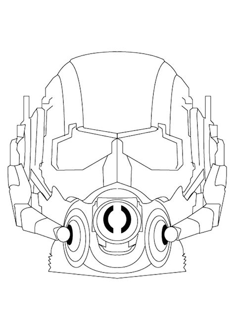 Ant Man Coloring Pages Best Coloring Pages For Kids Avengers Coloring Pages Avengers Coloring Ant Man Mask