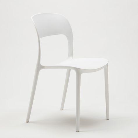 Sedie In Polipropilene Colorate.Sedie Cucina Casa Bar Ristorante In Polipropilene Design