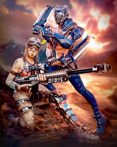Renegade Raider A Fortnite Poster Fortnitebr Raiders Wallpaper Best Gaming Wallpapers Gaming Wallpapers