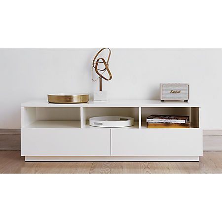 Chill White Media Console Reviews Cb2 Media Consoles Decor