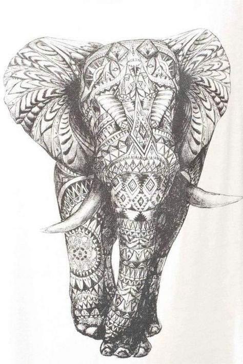 This is it!!!!!!!!!!! Detailed to the extreme but I love it! The elephant for my half sleeve :)
