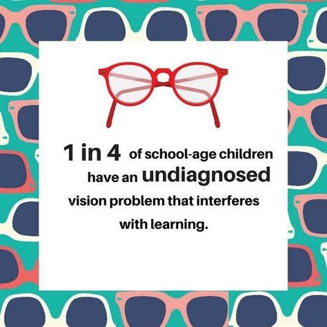 With the new year now underway, is it time to have your child's eye's tested? Make sure they can see their best so they can succeed at school.