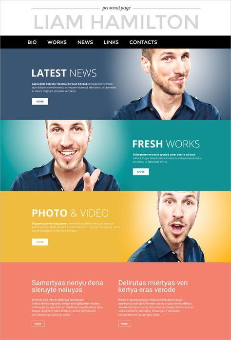 Xterey PSD Template   Pinterest   Wordpress, Themes themes and Web ...