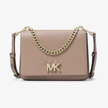 Michael Michael Kors Mott Large Leather Crossbody Bag