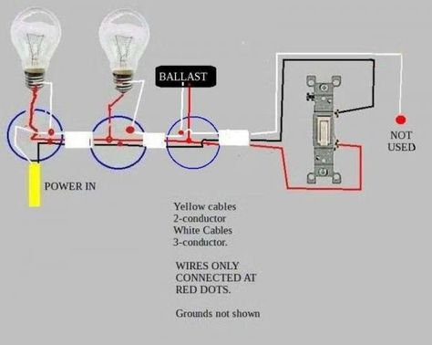 ce62688f0b22c6a5c8d4730d05296905 how to wire two fluorescent lights to one switch efcaviation com wiring diagram for multiple fluorescent lights at crackthecode.co