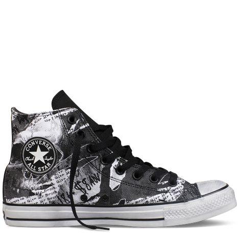 Converse - Chuck Taylor Rock Print - Hi - Black/White