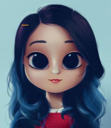 Blonde Hair Blue Eyes Girl Cartoon 44 Best Ideas In 2020 Cute Girl Drawing Illustration Art Girl Cartoon Girl Drawing