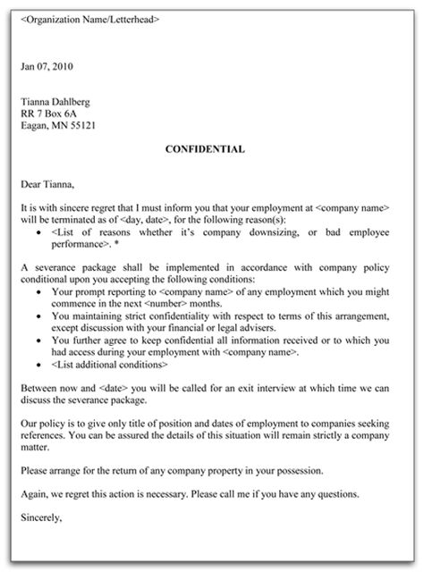 Free Printable Guarantor, Final Letter Trying To Collect Sample - employment separation certificate form