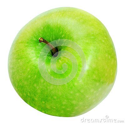 Green Apple Isolated On White And Png Image With Transparent Background Green Apple Apple Green