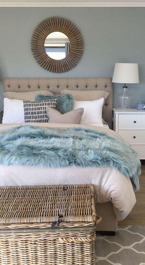 Cool 38 Impressive Coastal Bedroom Decorating Ideas More At