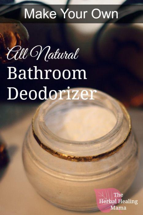 Simple Yet Effective Bathroom Deodorizer Freshener Bathroom
