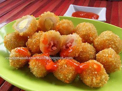 Resep Cilok Goreng Crispy Isi Telur Puyuh Dan Sosis Resep Masakan Indonesia Resep Ide Makanan