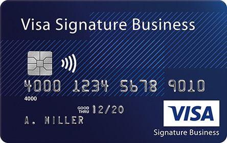 Visa Signature Business Card Visa Platinum Visa Platinum Card Small Business Cards