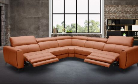 Sectional Motion Recliner Ricco In 2020 Sectional Sofa With Recliner Sectional Sectional Sofa