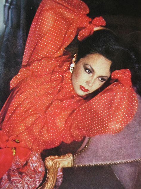 Marie Helvin Vogue March 1977 by Sew Something.
