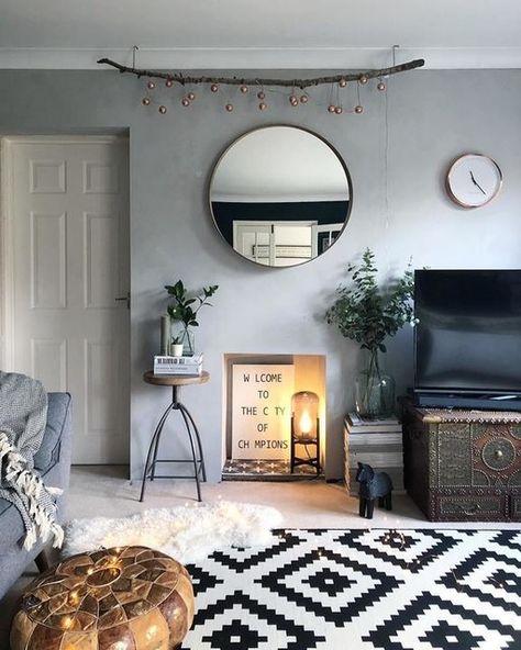 stockholm walnut veneer mirror 80 cm  ikea  modern
