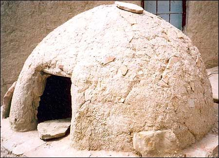 Prime Hopi Adobe Ovens This Is How They Bake Their Bread Each Interior Design Ideas Inesswwsoteloinfo