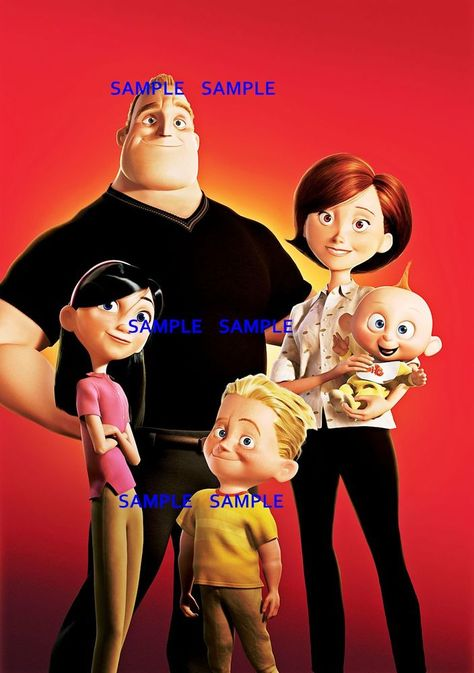 The Incredibles Family Photo ( 11