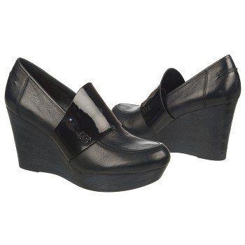 Women's Naya Naya Othello Black Leather/Shiny Naturalizer.com