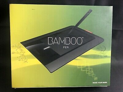 Bamboo Pen Ctl 460 Wacom Drawing Pen Tablet Complete Affilink
