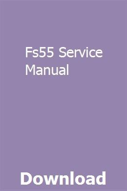 Fs55 Service Manual Manual Lancer Cedia User Manual