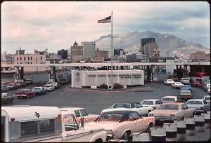 1970s El Paso Texas Ciudad Juarez Mexico Border El Paso Texas Old El Paso Places
