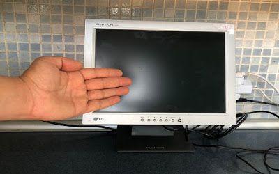 حوحو الدرس حول أي شاشة حاسوب مكتبي قديمة إلى تلفاز بطريقة سهلة جدا لا ترمي بها Blog Computer Monitor Blog Posts