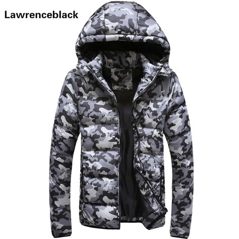 ALPINE™ Camouflage Padded Parka with Hoodie