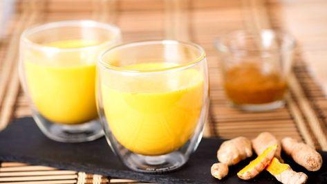 Goldene Milch Mit Kurkuma Safran Und Kardamom Rezept Kurkuma Milch Goldene Milch Und Kurkuma