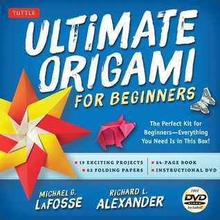 Pdf Download Ultimate Origami For Beginners Kit The Perfect Kit For Beginners Everything You Need Is In This Origami For Beginners Book Origami Beginner Kit