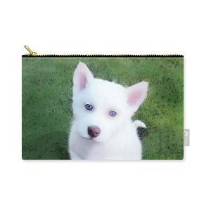 Carry All Pouch Siberian Husky Puppy A030619 Carry All Pouch For