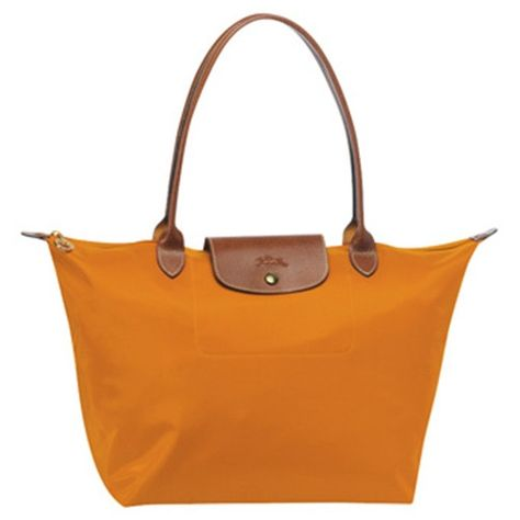 Longchamp Tasche Le Pliage Large Folding Tote Stiel Orange Longchamp Taschen