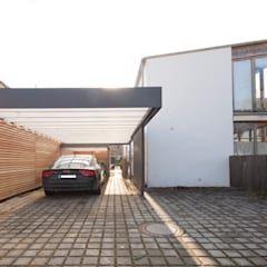 Carport Moderne Garagen Schuppen Von Architekt Armin Hagele Modern Moderne Garage Carports Und Carport