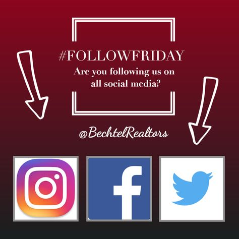Follow Bechtel Realtors On All Social Media Stay Up To Date On All Active Listing Information Bechtelrealtors Realest Ohio Real Estate Real Estate Realtors