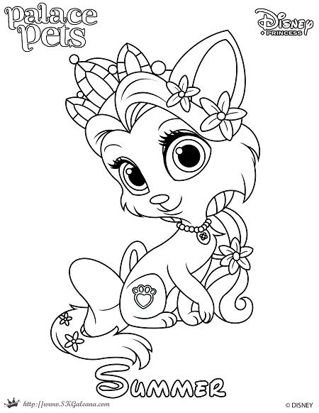 Free Coloring Page Featuring Summer From Disney S Princess Palace Pets Disney Coloring Pages Summer Coloring Pages Free Coloring Pages