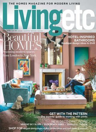 Cover Of Living Etc Uk May 2018 Interior Design Magazine Cover Interior Design Books New England Homes
