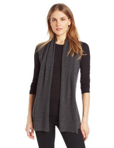 8ed9d47f0ba41 Colour Works Women s 100% Merino Wool Sleeveless Cardigan Vest Sweater