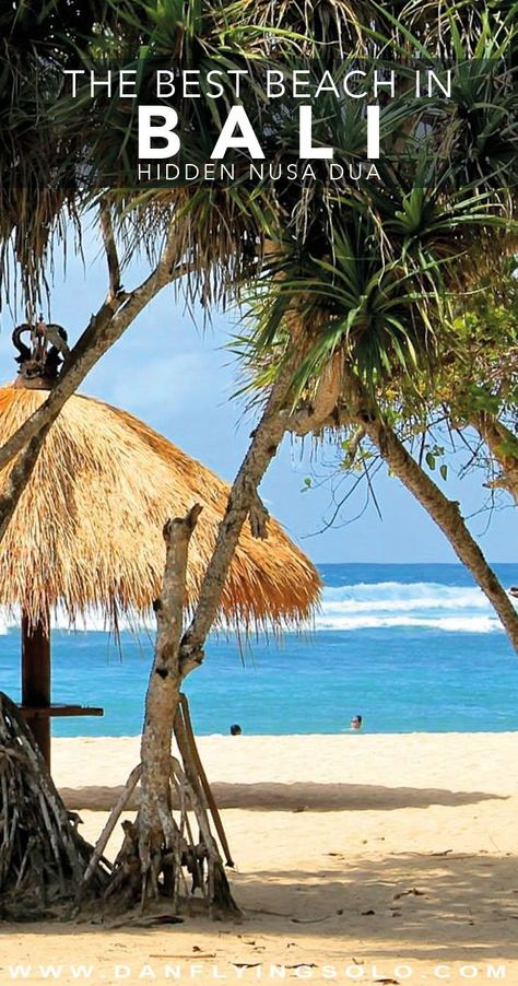 Where to find the best hidden beach in Bali. #bali #honeymooondestination