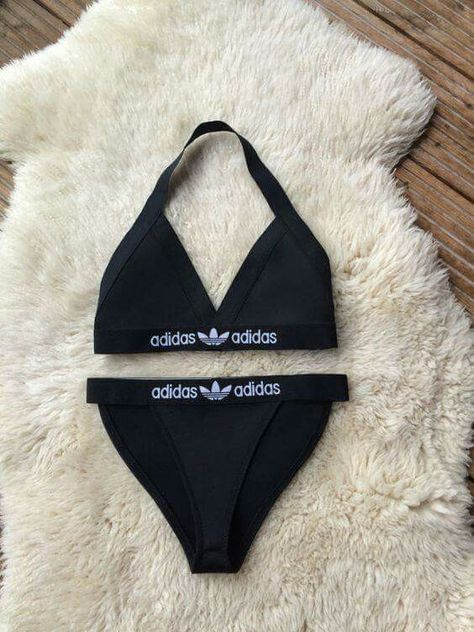 Adidas #bikinis #Shoes $39 adidas shoes on Reworked Black