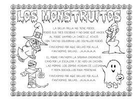 Recursos Infantiles Proyecto El Miedo Poemas De Halloween Halloween Infantil Halloween
